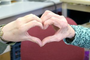 Volunteers Heart Shaped Hands-982x655